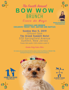 Home for Good Dog Rescue's Bow Wow Brunch @ Grand Summit Hotel