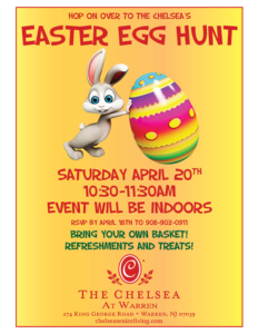 The Chelsea 's Easter Egg Hunt 2019 @ The Chelsea in Warren