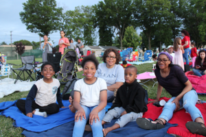 Union Township for Movies Under the Stars: Into the Spiderverse @ Rabkin Park