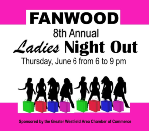 Fanwood's 8th Annual Ladies Night Out @ Downtown Fanwood