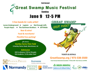 Great Swamp Music Festival @ Hartley Famrs Polo Field