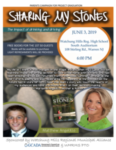WHRHS Presents Sharing My Stones @ Watchung Hills Regional High School