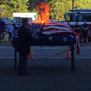 Flag Retirement Ceremony 2019 @ American Legion Hall