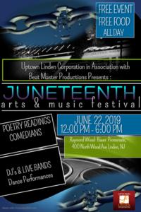 Linden's Juneteenth Arts & Music Festival @ Raymond Wood Bauer Promenade