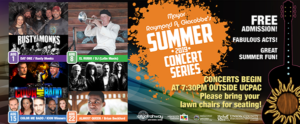 Rahway's Mayor Summer Concert Series @ Union County Performing Arts Center
