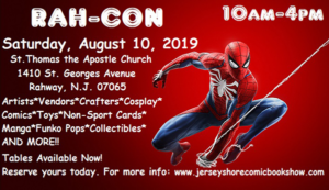 Rahway's RAH-CON Comic Convention @ St. Thomas the Apostle Church