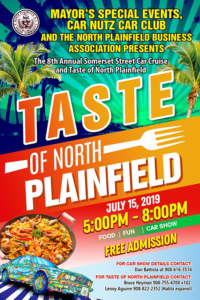 The 8th Annual Taste of North Plainfield @ Taste of North Plainfield