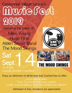 Centennial Village Group's 12th MusicFest in Cranford @ Lincoln School Cranford
