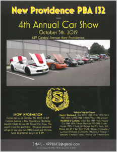 New Providence 4th Annual Car Show @ Berkeley Aquatic Club