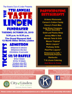 7th Annual Taste of Linden @ Grand Banquet Hall