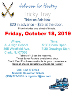 Arthur L. Johnson Ice Hockey Tricky Tray @ ALJ High School
