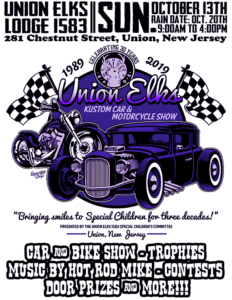 Union Elks Kustom Car & Motorcycle Show @ Union Elks Lodge