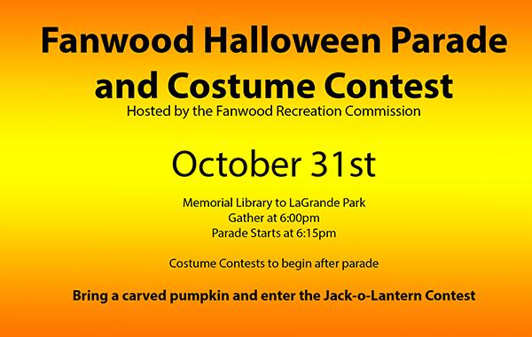 Fanwood Halloween Parade 2020 Fanwood Halloween Parade & Costume Contest – Renna Media