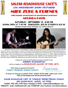Salem Roadhouse Cafe Presents Mike Zuko & Friends @ Salem Roadhouse Cafe