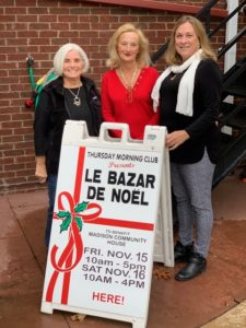 Madison Thursday Morning Club's Festive Bazar de Noel @ Madison Community House