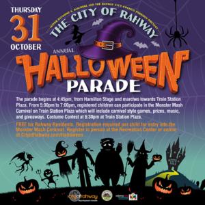 Rahway Halloween Parade 2020 Rahway's Halloween Parade & Monster Mash Carnival – Renna Media