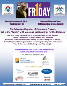 "Suburban Chamber of Commerce: Get in the ""Spirits"" @ The Grand Summit Hotel"