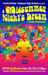 Scotch Plains-Fanwood High School Presents A Midsummer Night's Dream @ Scotch Plains-Fanwood High School
