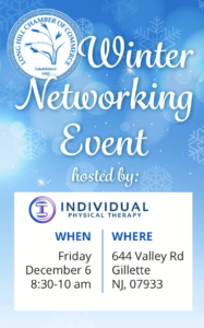 Long Hill Winter Networking Event @ Individual Physical Therapy