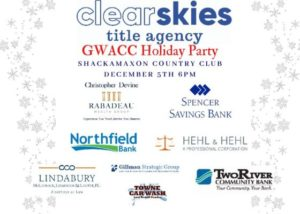 Clear Skies Title Agency GWACC Holiday Party @ Shackamaxon Country Club