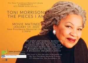 New Providence Library Movie Matinee: The Pieces I Am @ New Providence Memorial Library