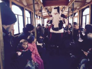 Cranford Trolly Rides with Santa @ Cranford Gazebo