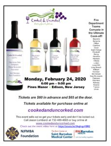 Garden State Cooked and Uncorked - Food and Wine Festival @ Pines Manor