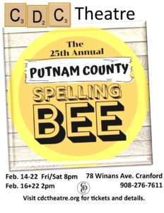 The 25th Annual Putnam County Spelling Bee at CDC Theatre @ CDC Theatre