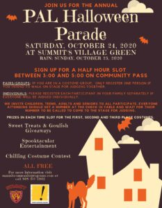Summit's annual Halloween parade @ Summits Village Green