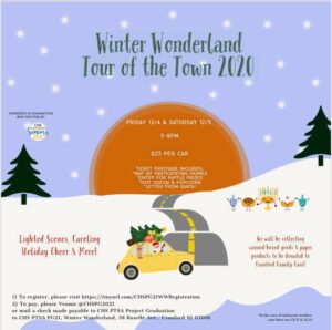 Cranford's Winter Wonderland Tour of the Town
