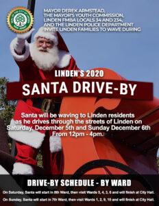 Linden's 2020 Santa Drive-By @ Linden