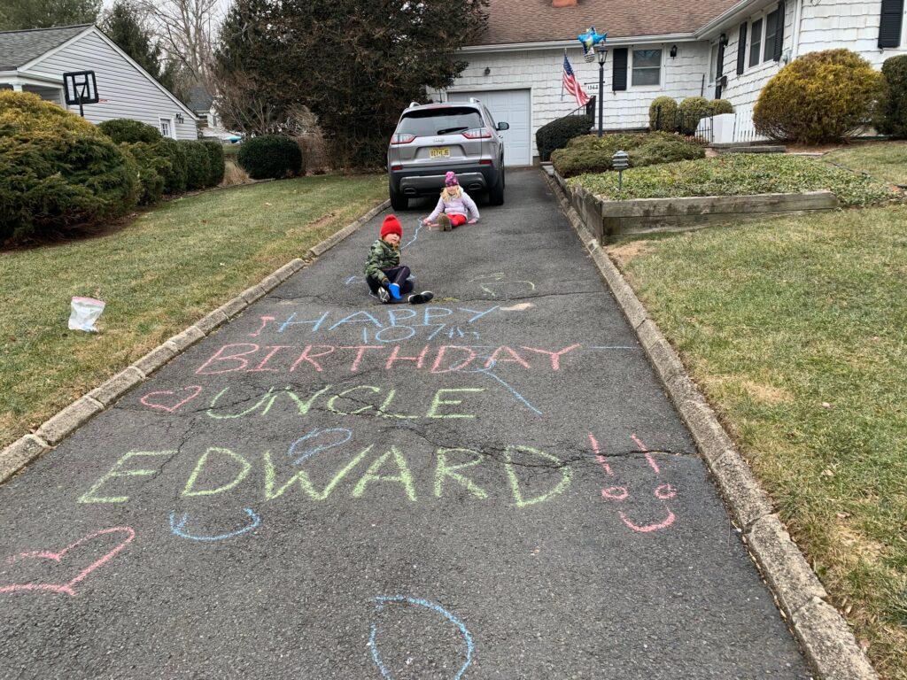 Edward Verlangieri birthday message
