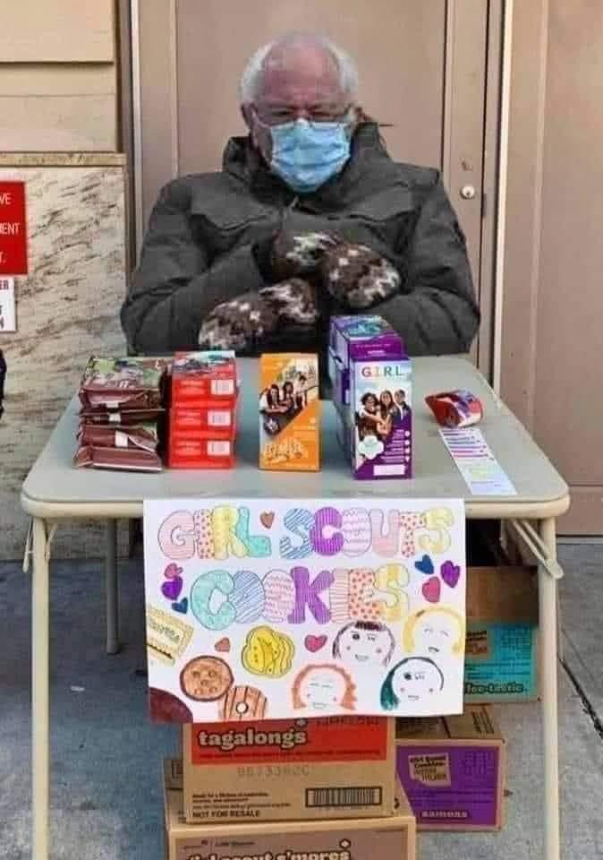 Westfield girl scout cookies bernie