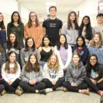 Quill and Scroll Honor Society members