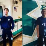 New Providence EMS Julian Le Brun and Jeff Wang