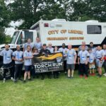 Linden police Special Olympics Torch